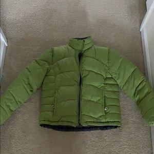 Reversible down LLBean down jacket